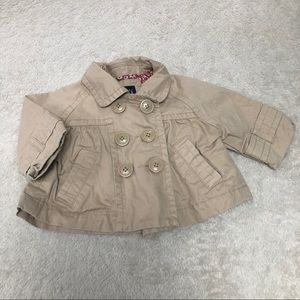 Gap girls coat 18-24 month tan